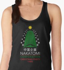 Nakatomi Corporation Christmas Party Snowflake Tower Women's Tank Top