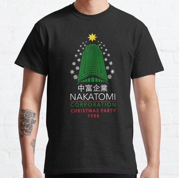 Nakatomi Corporation Weihnachtsfeier Schneeflockenturm Classic T-Shirt