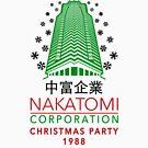 Nakatomi Corporation Weihnachtsfeier Tower Flocke Variante von Candywrap Design
