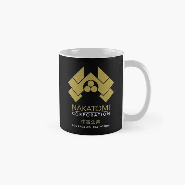Nakatomi Gold Los Angeles California Classic Mug