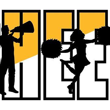 """Cheerleading """"CHEER"""" by SportsT-Shirts"""