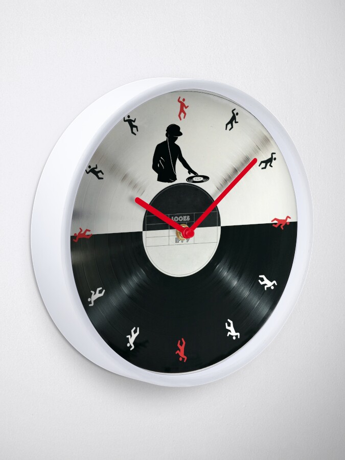 Alternate view of DJ Clock
