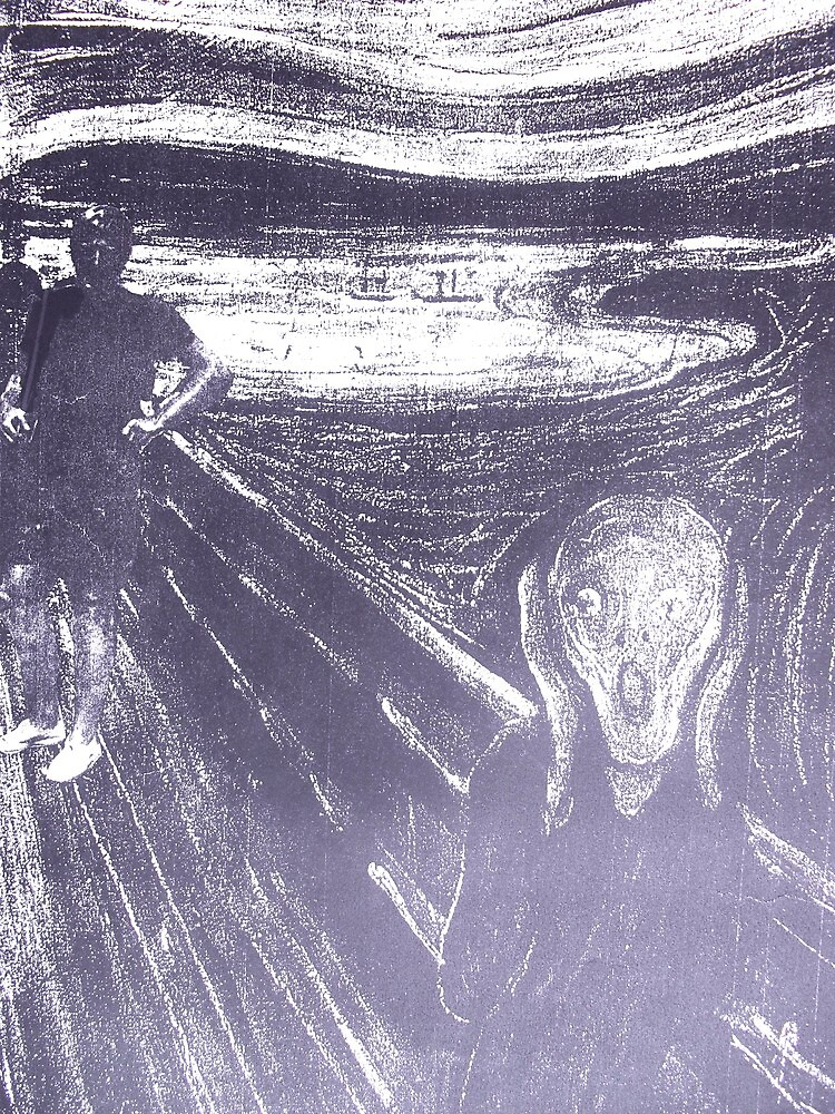 The Real Reason For The Scream by Richard  Tuvey