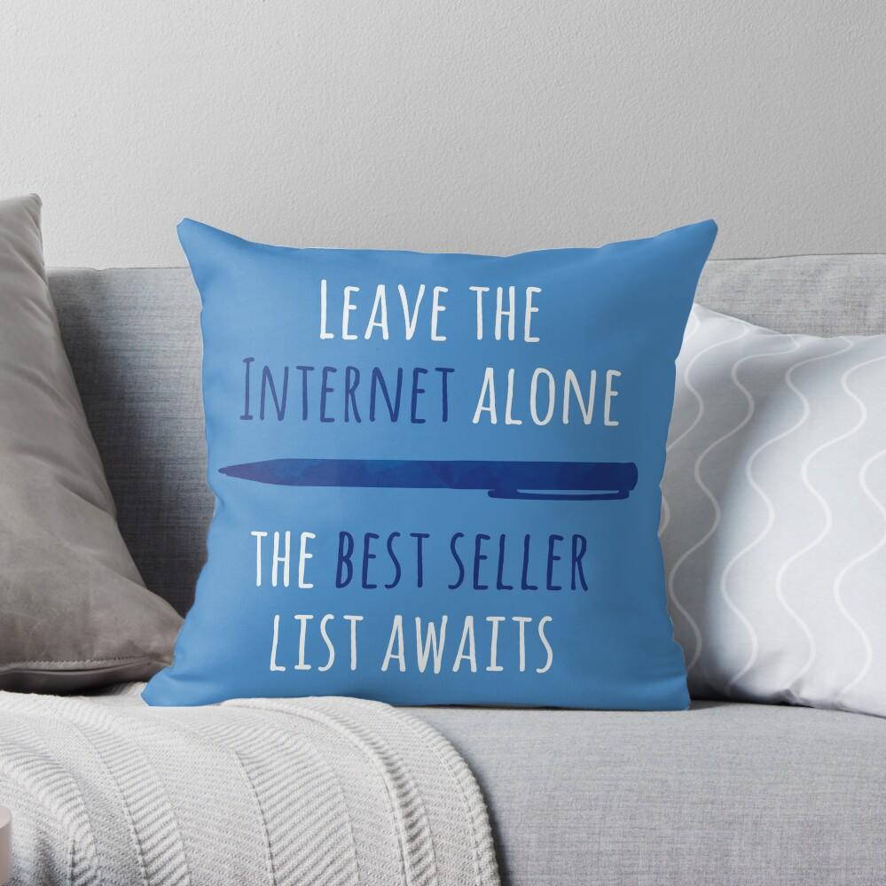 Your best seller awaits!! Throw Pillow