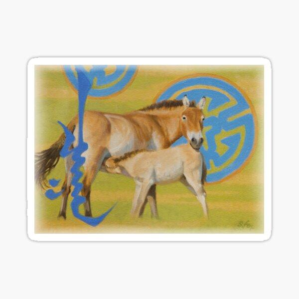 """""""Foal"""" Sticker"""