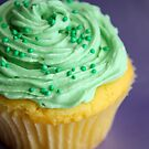 Green cupcake by Framed-Photos