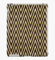 Gold Glitter Art Deco Design iPad Case/Skin