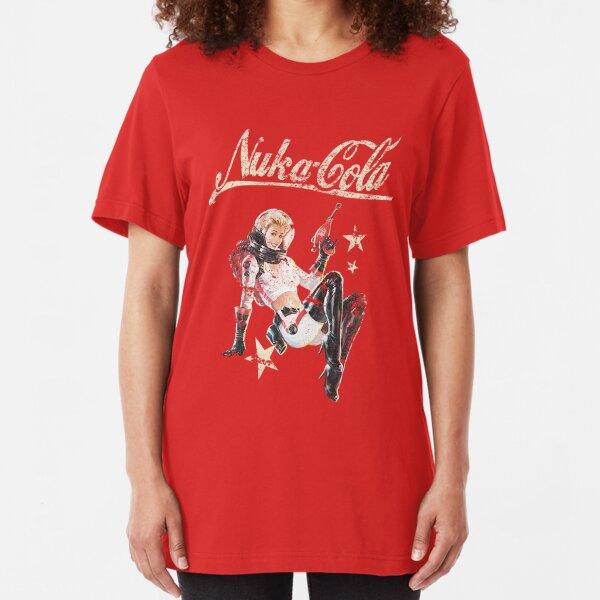 Nuka-Cola Pinup  Slim Fit T-Shirt