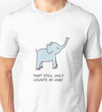 cute LOTR inspired elephant Unisex T-Shirt