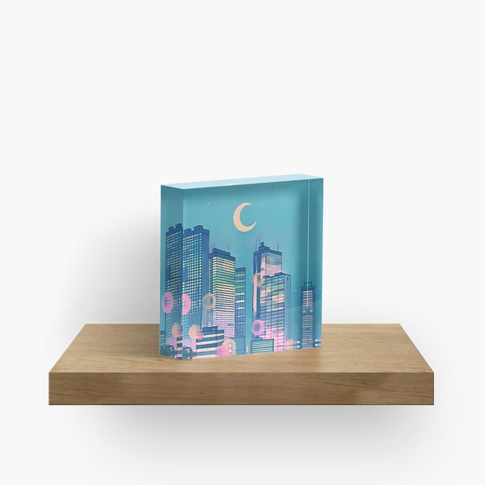 Classic Shoujo skies Acrylic Block
