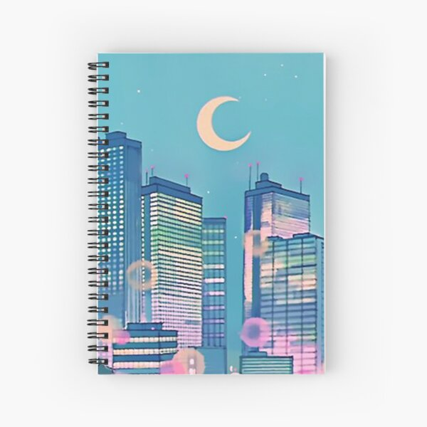 Classic Shoujo skies Spiral Notebook