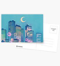 Classic Shoujo skies Postcards