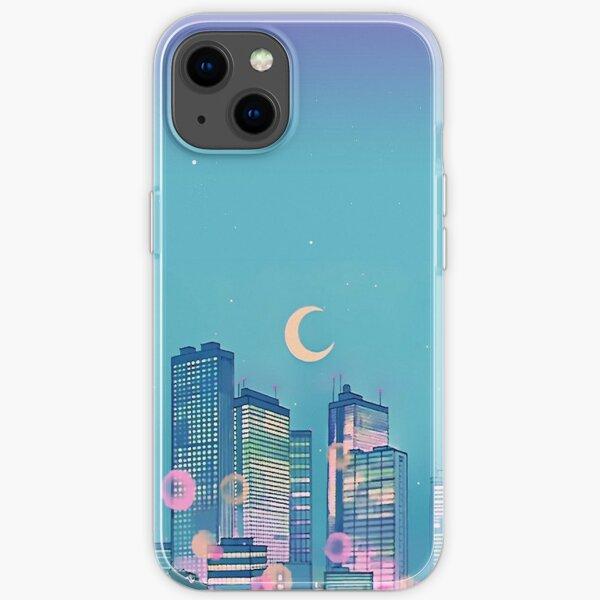 Klassische Shoujo-Himmel iPhone Flexible Hülle