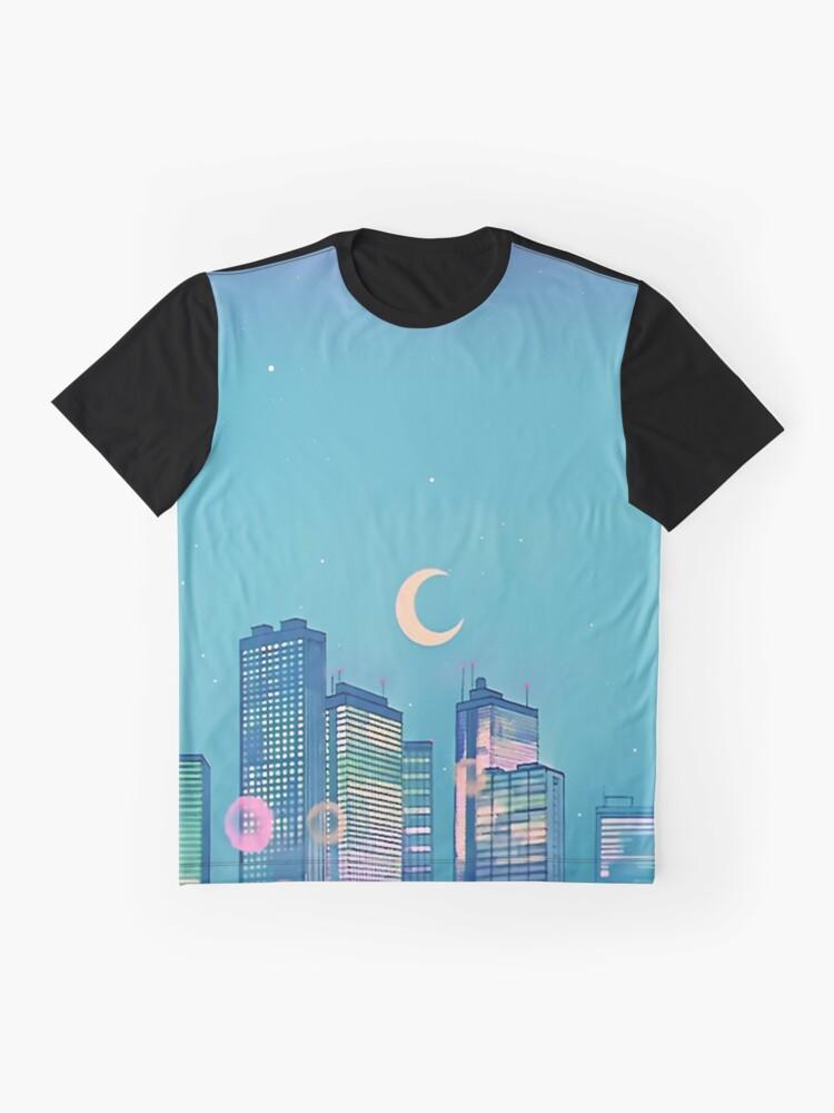 Alternative Ansicht von Klassische Shoujo-Himmel Grafik T-Shirt