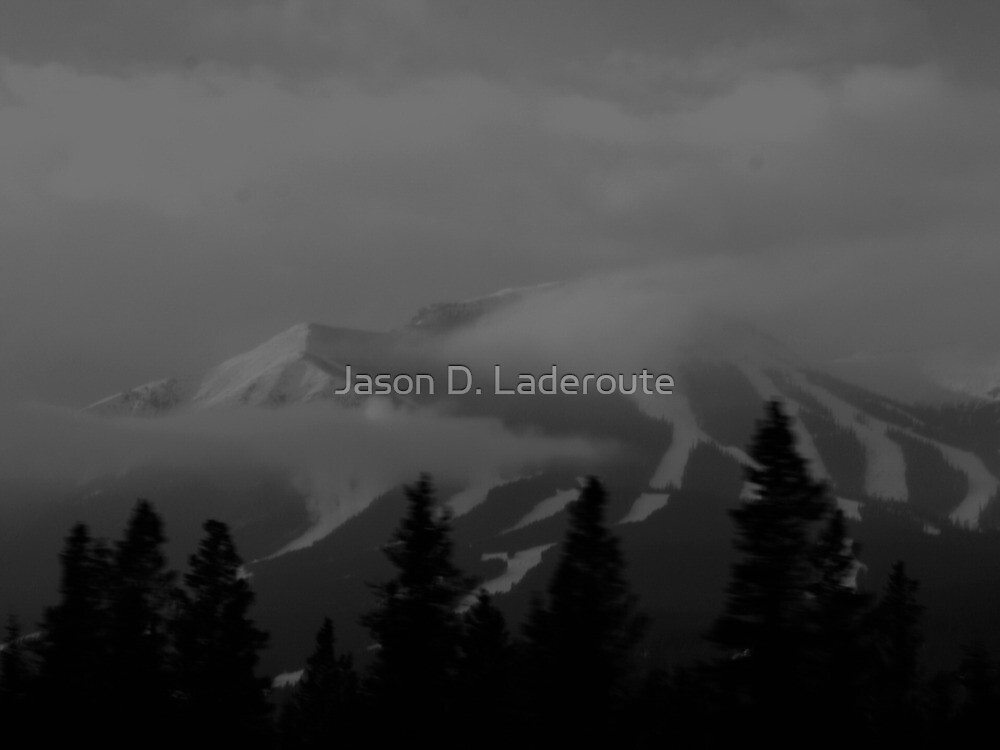 Ski Hill in Kananaskis Country by Jason D. Laderoute