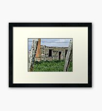 They moved away Framed Print