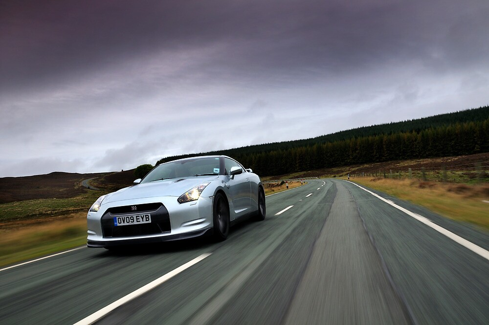 On the road with the GTR ....  by M-Pics