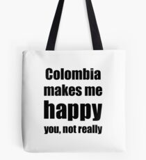 Colombia Cocktail Lover Funny Gift for Friend Alcohol Mixed Drink Tote bag