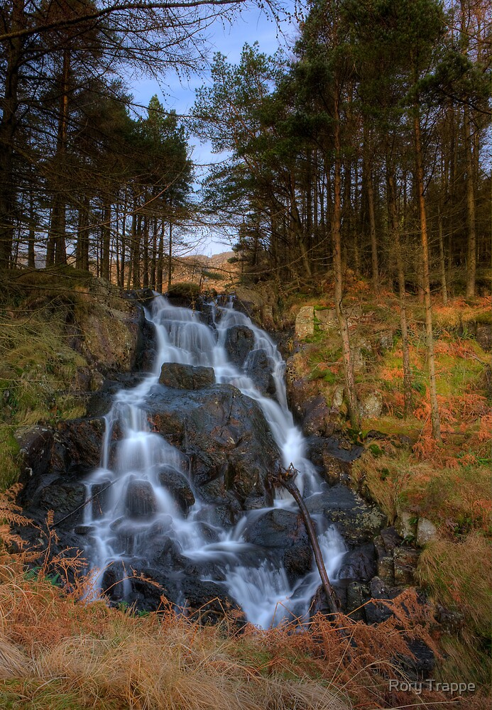 Moel Siabod waterfall by Rory Trappe