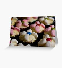 Smartie Blue Greeting Card
