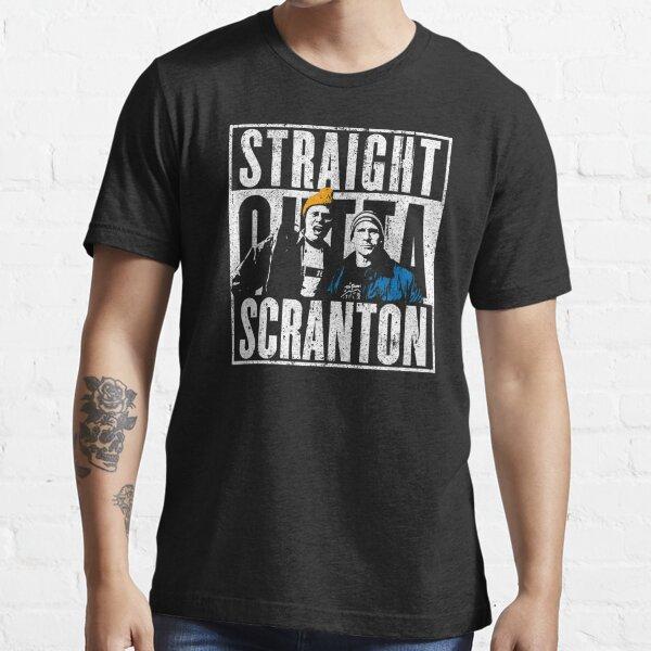 Straight Outta Scranton - Lazy Scranton Essential T-Shirt