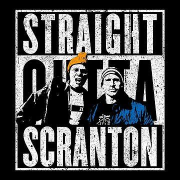 Straight Outta Scranton - Lazy Scranton by huckblade