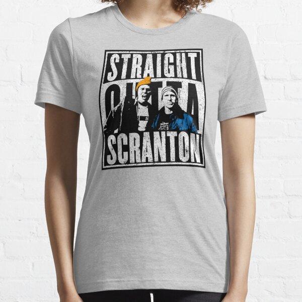 Straight Outta Scranton (Variante) - Lazy Scranton T-shirt essentiel