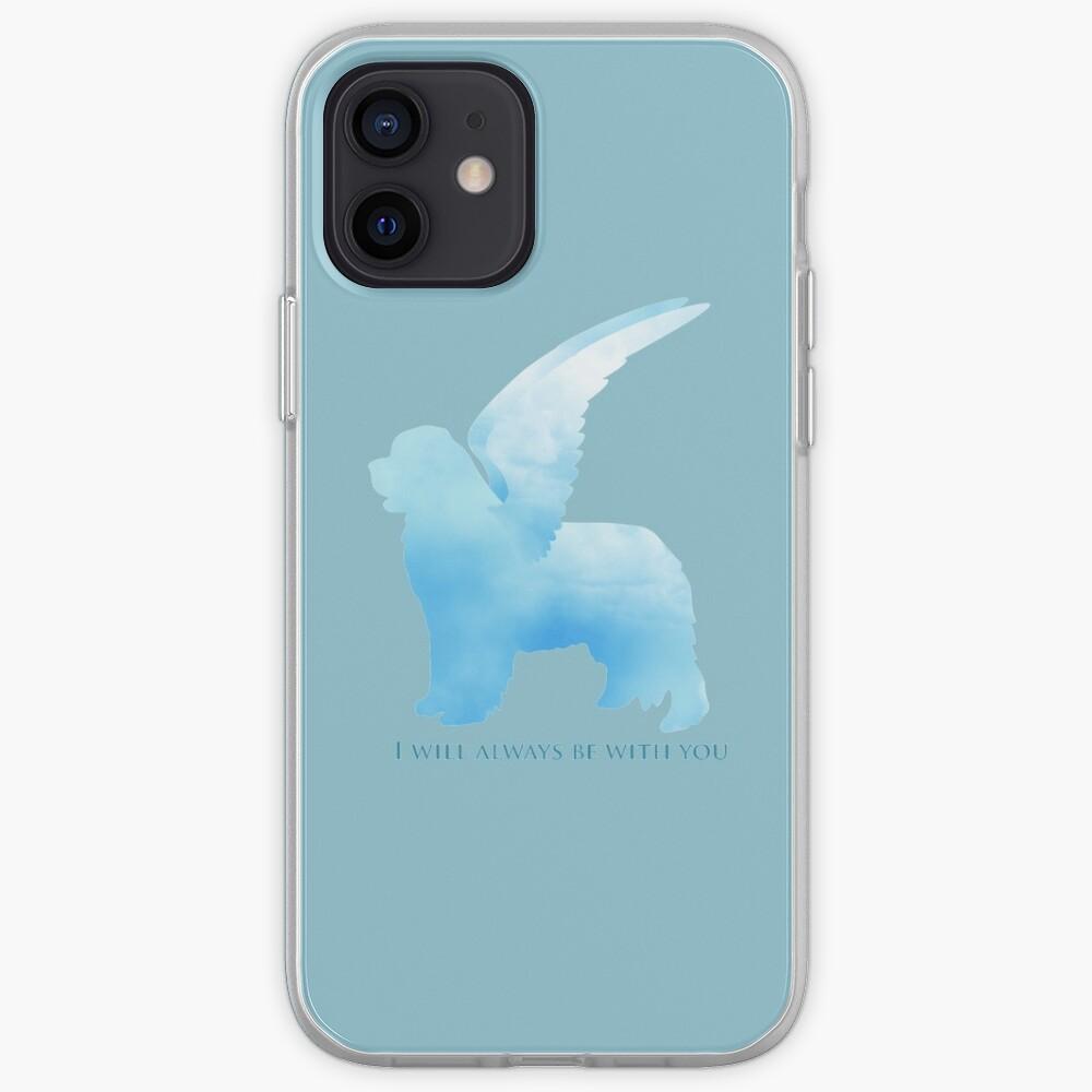 Newfoundland Dog Angel iPhone Case & Cover