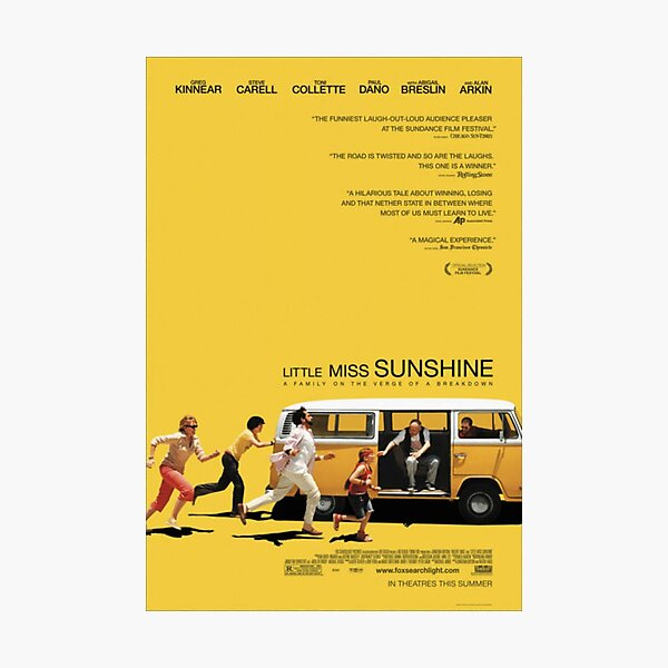 Little Miss Sunshine Movie Poster Photographic Print