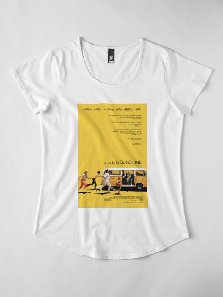 Little Miss Sunshine Movie Poster Women s Premium T-Shirt Front.  product-preview. product-preview. product-preview 6f3352252