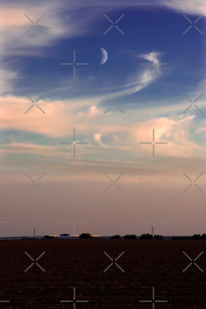 Thanet Moon by Geoff Carpenter