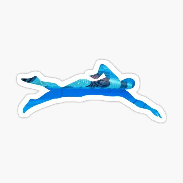 Competitive Swimmer Sticker