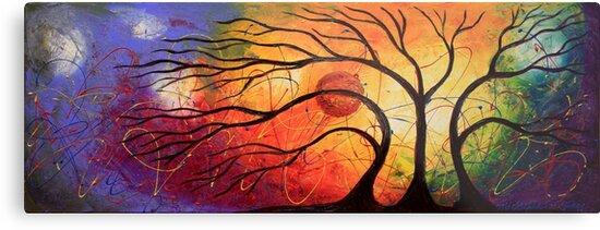 The Hidden Moon by Abstract D'Oyley