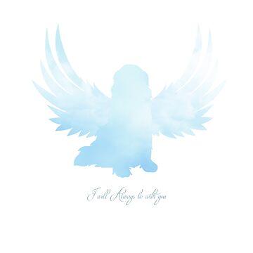 Blue Dog Angel by itsmechris