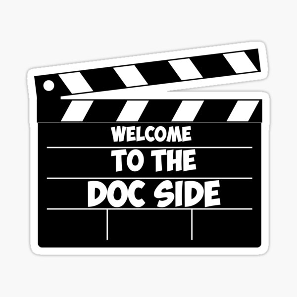 Welcome to the Doc Side Documentary Sticker