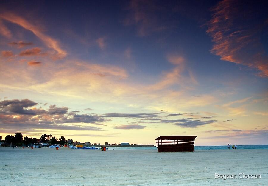 On The Beach  by Bogdan Ciocsan