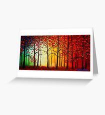 Listen to the Trees Greeting Card