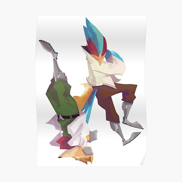 Falco and Fox Poster