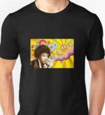 Camiseta unisex Jimi Hendrix Love Design