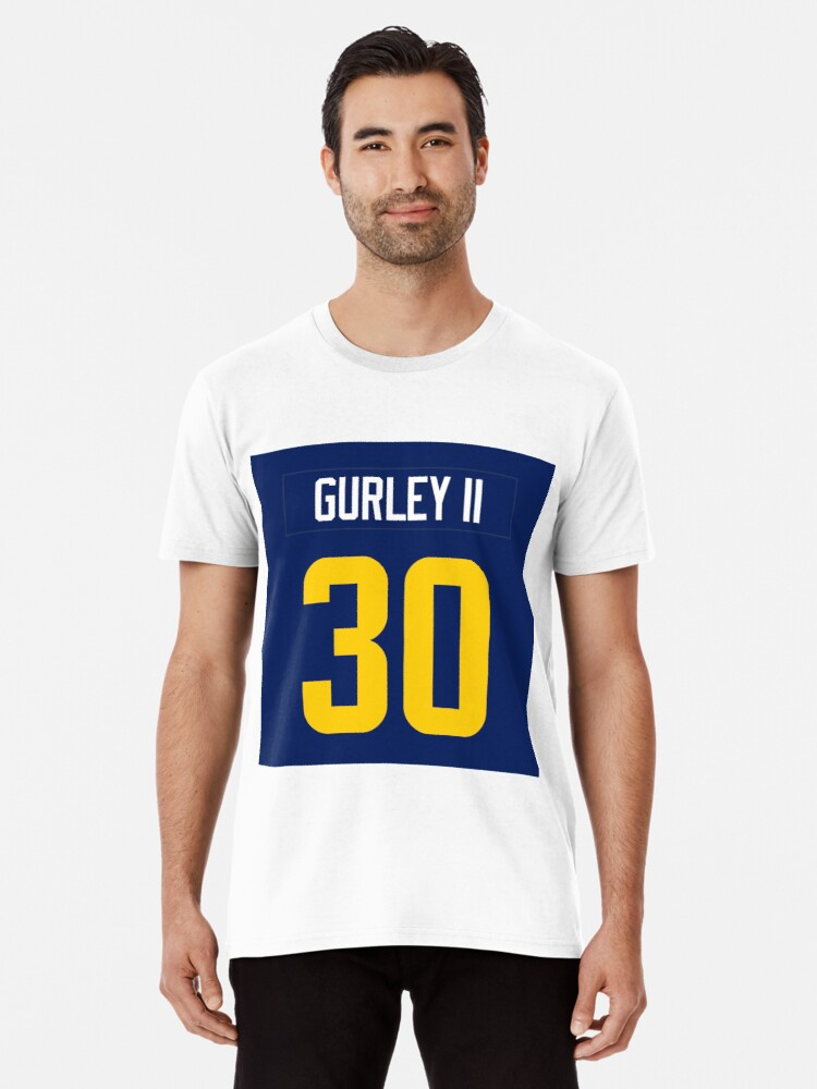 promo code 0ac04 a78aa 'Todd Gurley Jersey Case' Premium T-Shirt by csmall96