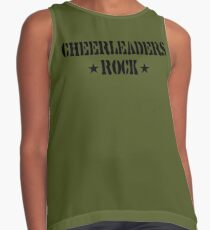Cheerleaders Rock Contrast Tank