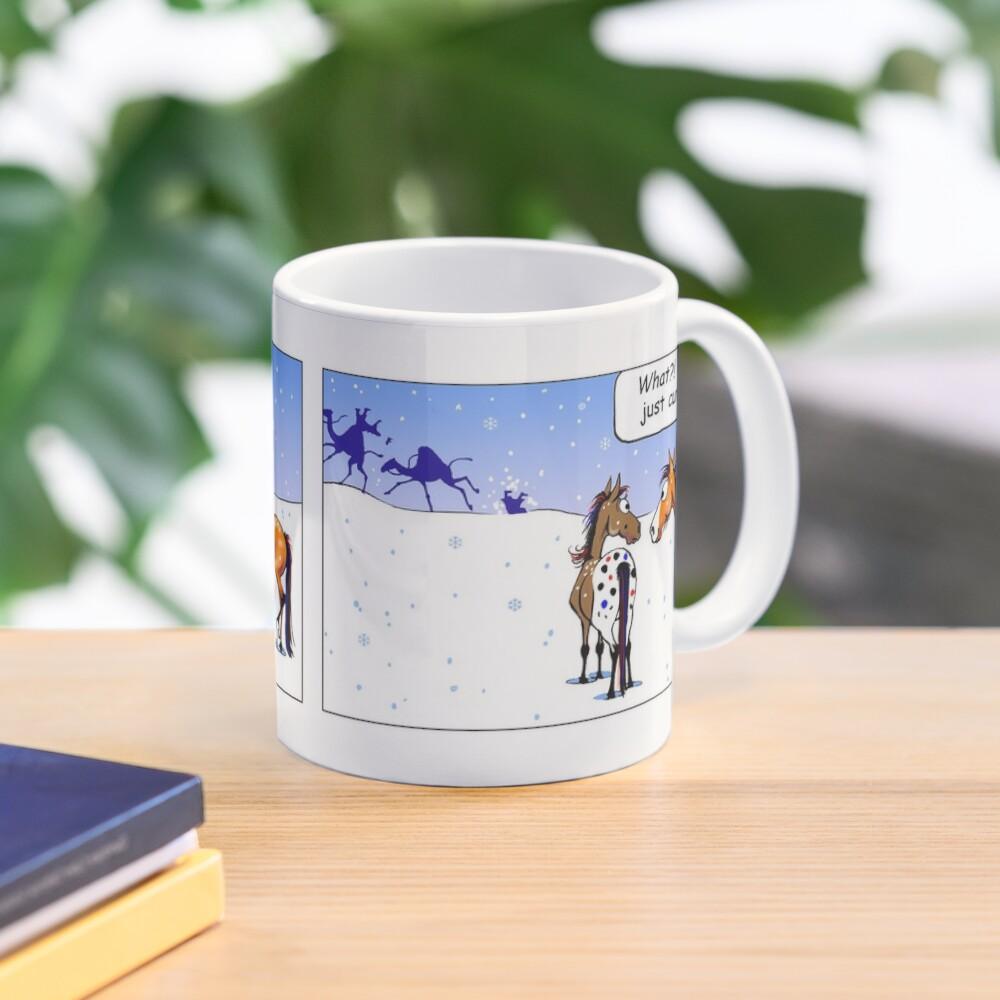 "Fergus the Horse: ""Three Wise Men"" Comic Strip Mug"