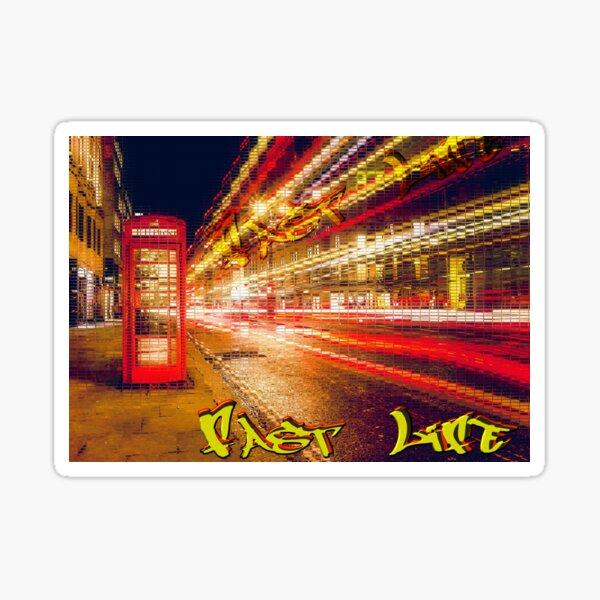 Fast Life Sticker
