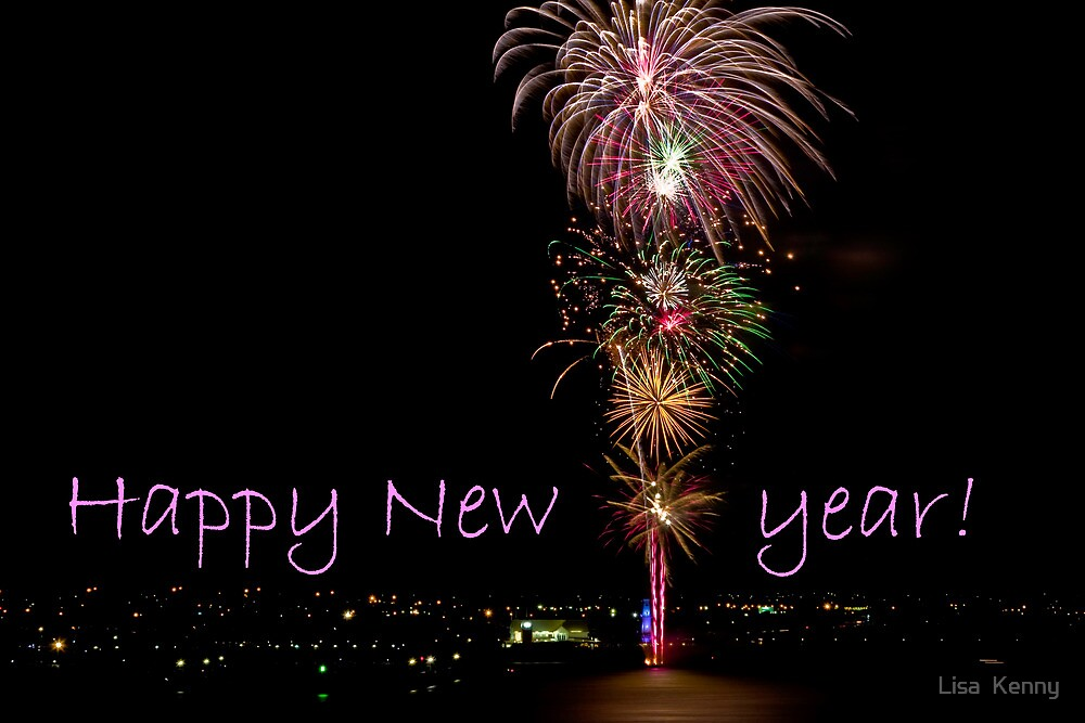 Happy New Year from Geelong by Lisa Kenny