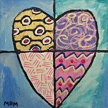 Heart by marymirabalart