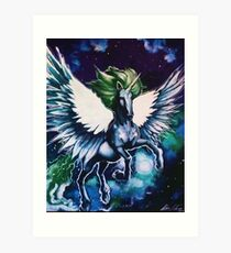 the goslin unicorn Art Print