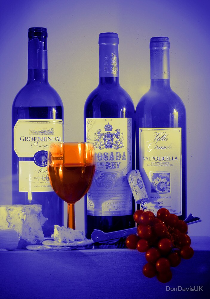 Cheese and Wine: A Colourful Evening by DonDavisUK