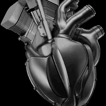 Motorcycle in my heart by DBA-Dezines
