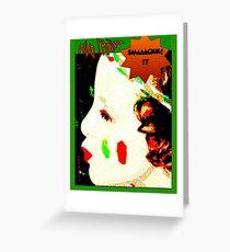 ilaria W L'Italia Greeting Card
