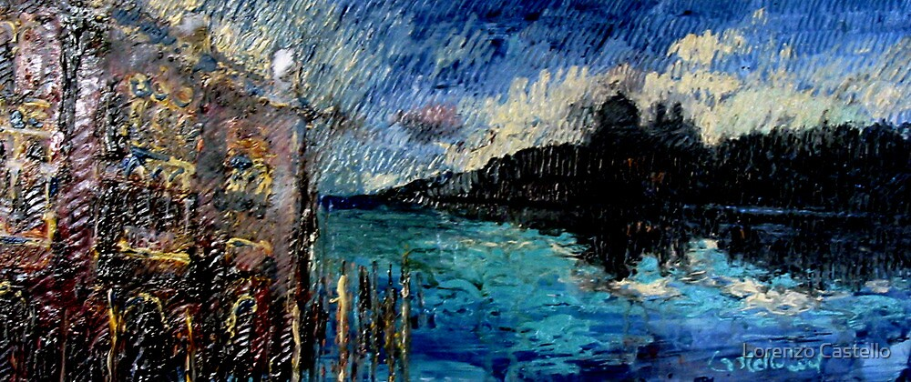 Venice in paint by Lorenzo Castello